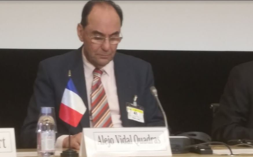 .@VidalQuadras Deuis l&#39;accord nucélaire, le comportement du régime #Iran est + agressif vis/vis des Iraniens &amp;exétrieur #DirectAN #FreeIran<br>http://pic.twitter.com/aL33NIh15A