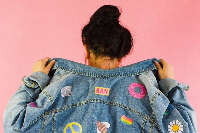 DIY DENIM BRIDE PATCH JACKET