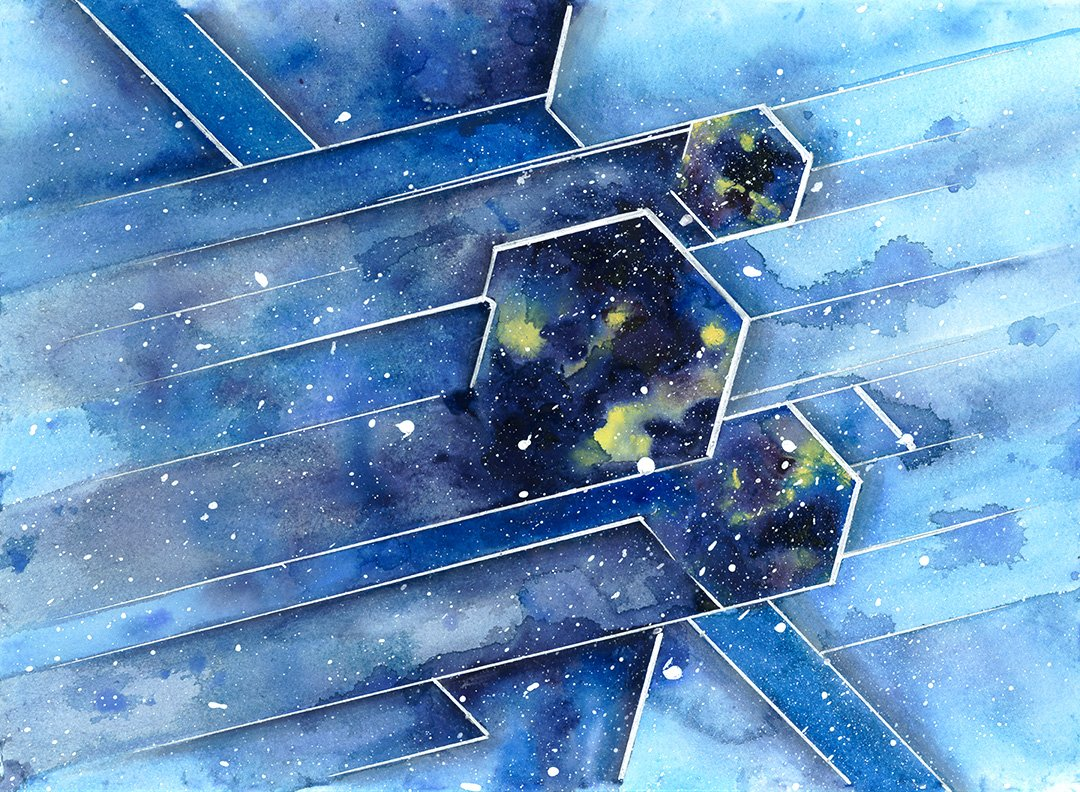 Wow! Check out these #cosmic #illustrations by @AntonioHolguin!  http:// cosmiccathedral.tumblr.com / &nbsp;   #sciart #astronomy - @artthescience<br>http://pic.twitter.com/Bo73bTqGt9