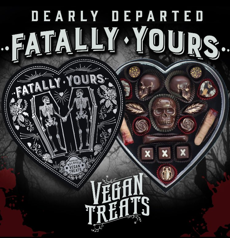 The 2017 limited edition Dearly Departed Fatally Yours chocolate box is now available! https://t.co/u8uPSgaNVH