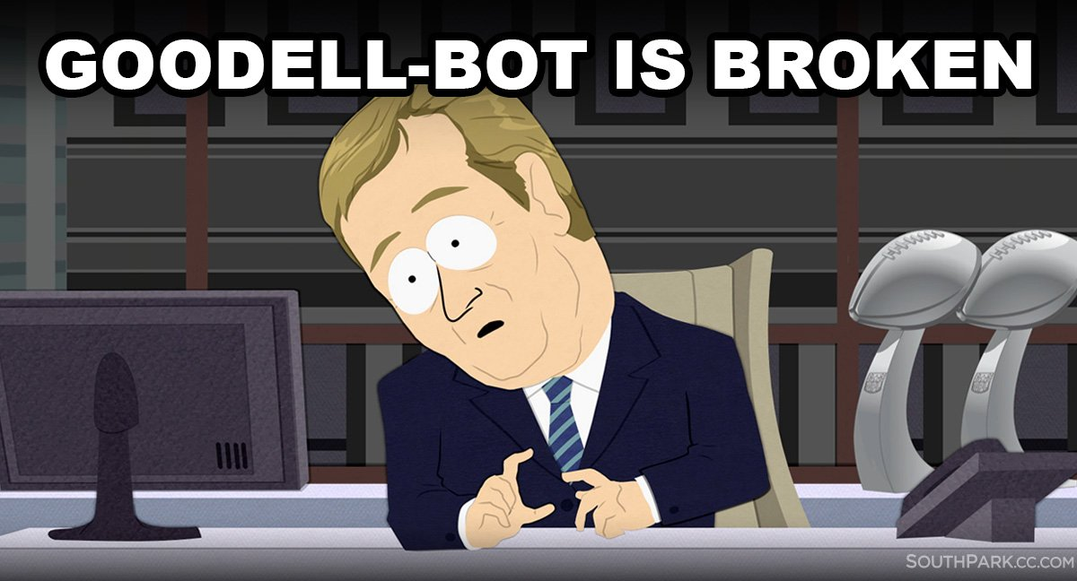 'If the Goodell bot is broken, we must stay out of it more than even u...