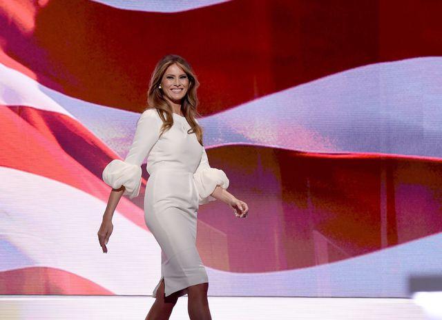 Giuramento Trump: Melania vestita con la Moda di Giorgio Armani?