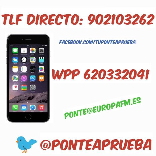 Quedan pocas horas para un nuevo #PonteaPrueba y estamos deseando conocer tu historia. ¡Contacta con nosotros! <br>http://pic.twitter.com/4dlnoATxMa