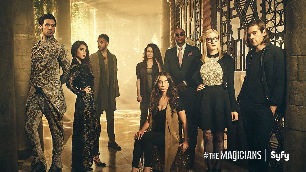 Retweet to receive a reminder when @MagiciansSyfy premieres January 25 at 9/8c on Syfy. #TheMagicians