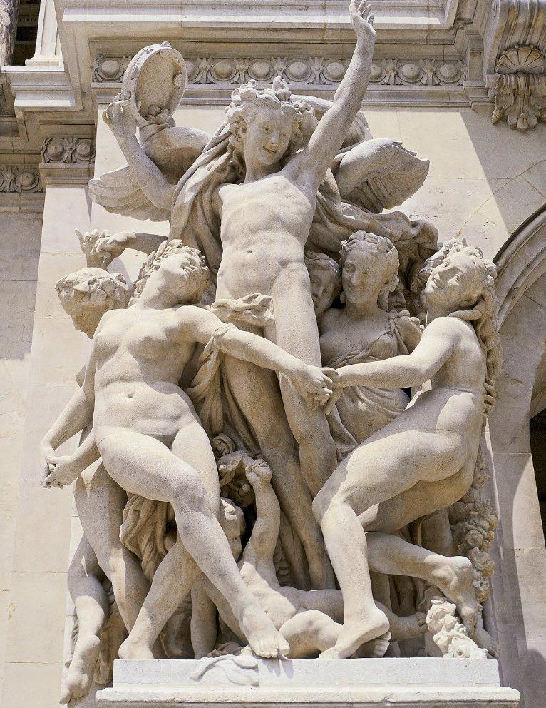 Jean-Baptiste #Carpeaux, La #Danse (façade de l&#39;#OpéraGarnier, #Paris).   #SapereCondiviso #France #Travel #Art<br>http://pic.twitter.com/bQhkTDgl7I