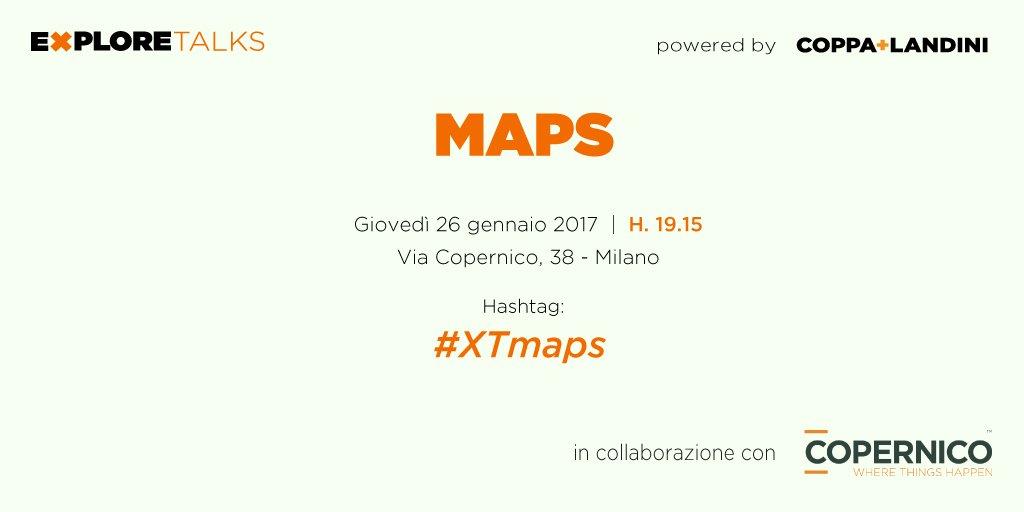 Partecipa al momento di ispirazione da noi progettato su affascinante mondo delle mappe!Iscrizioni su https://t.co/5DncSVYE9P #XTmaps #mappe https://t.co/SWLXMpMveo