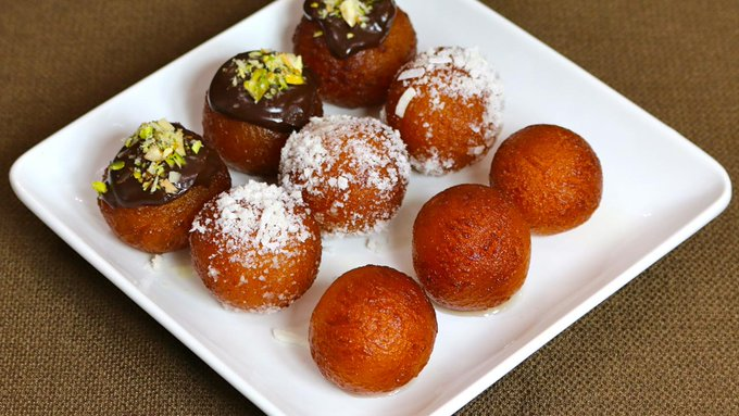 Bread Gulab Jamun Recipe.