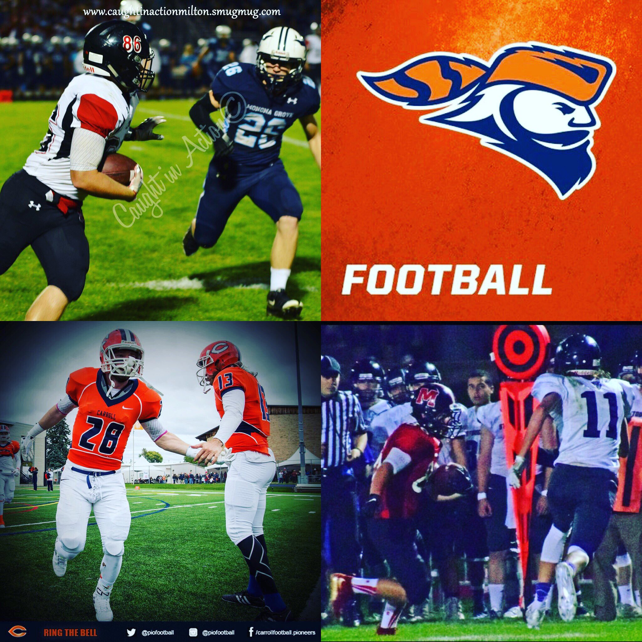 I have decided to continue my academic and athletic career at Carroll University! 🔶🔷 https://t.co/5Xnvos9kcn