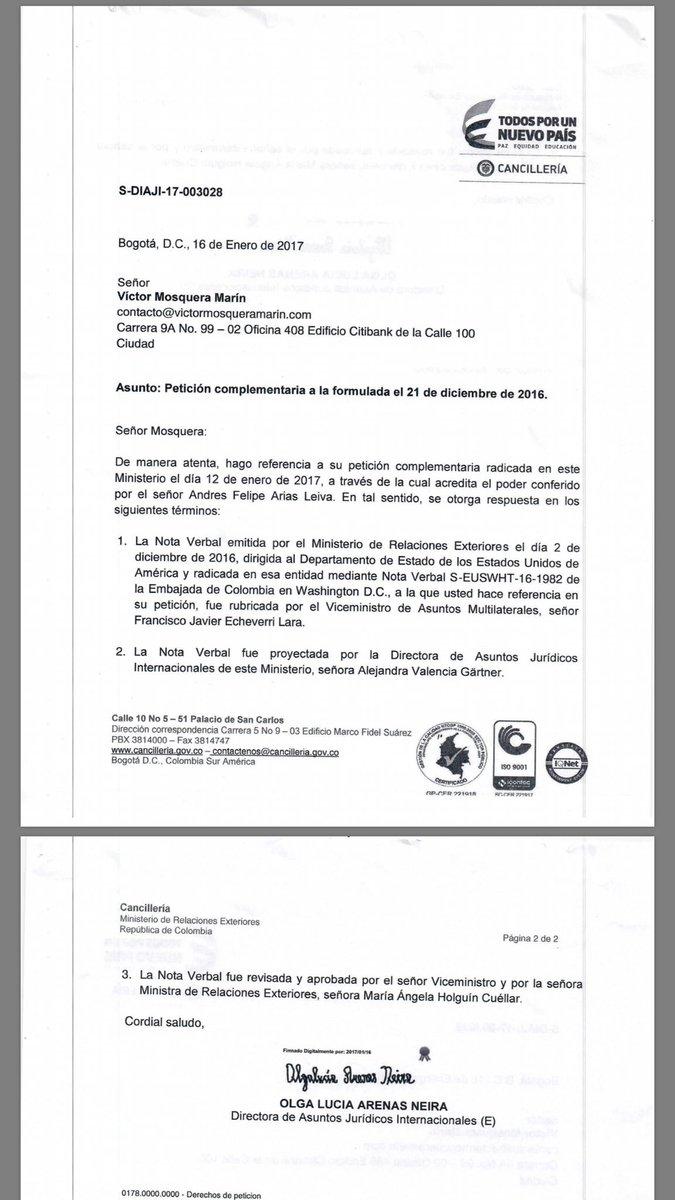 Lvaro uribe v lez alvarouribevel twitter for Oposiciones ministerio de exteriores