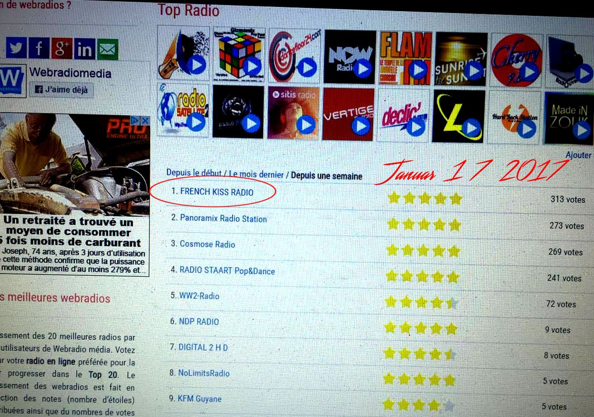 http://www. frenchkissradio.fr  &nbsp;     N1 in FRANCE  #USA #Canada #europe #France #music #tweet #ibiza #nyc #Afrique #Africa #Maroc #Tunisie #uk<br>http://pic.twitter.com/WHbpStA0yj