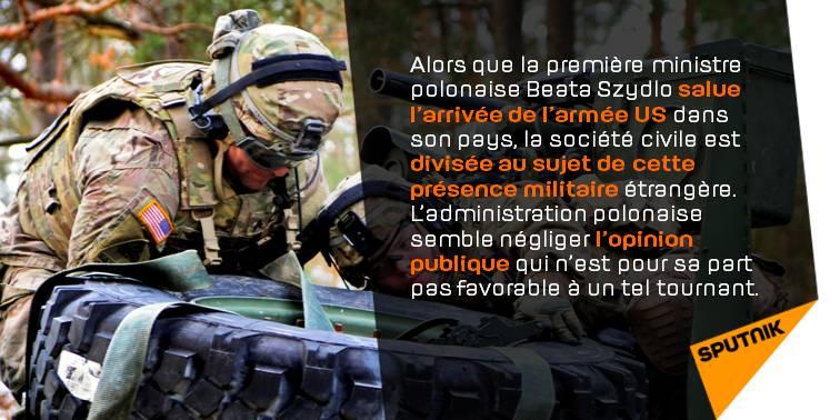 Armée #US en #Pologne: la société dangereusement divisée &gt;&gt;  http:// sptnkne.ws/drvU  &nbsp;   #Otan<br>http://pic.twitter.com/dbdEJrRLNW