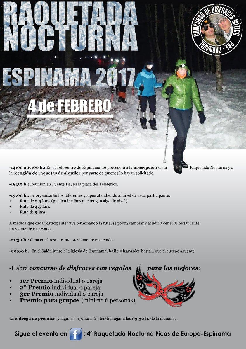 #RaquetadaNocturna 2017 #Espinama #PicosDeEuropa: 4 febrero. Quienes lo conocen, aseguran que cambió su vida. Que no te lo cuenten: VÍVELO <br>http://pic.twitter.com/SpRLamKj4Q