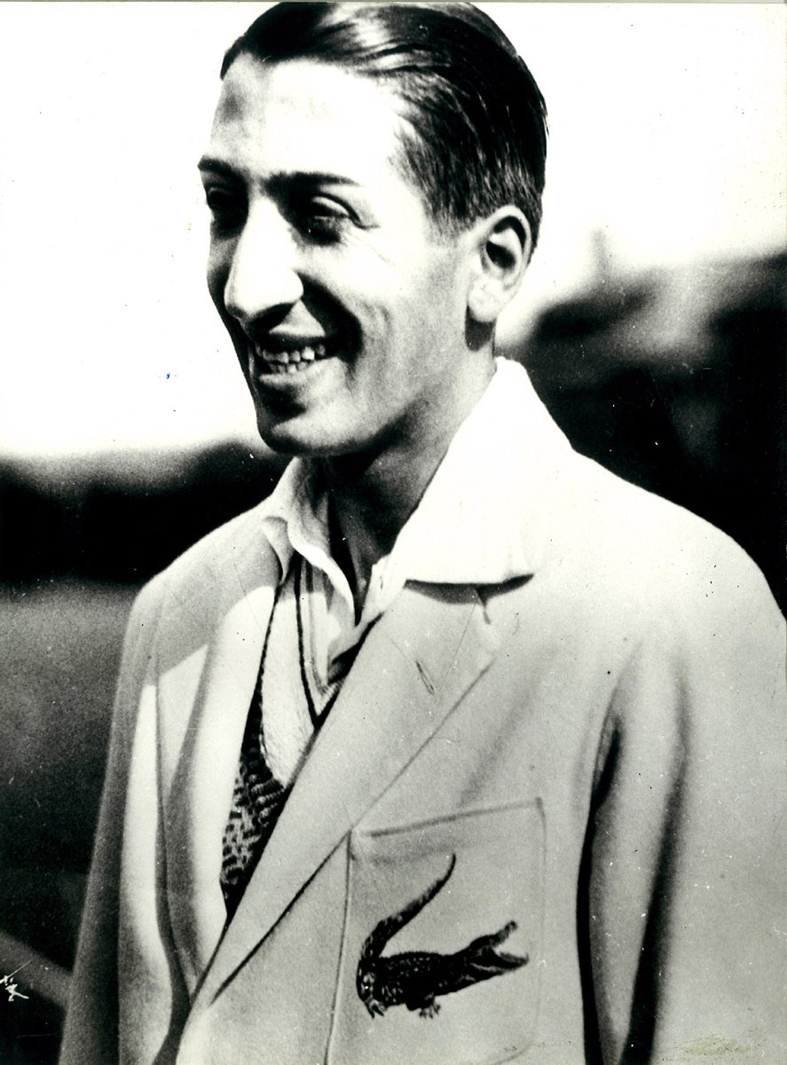"""LACOSTE on Twitter """"Do you know where & when René Lacoste"""
