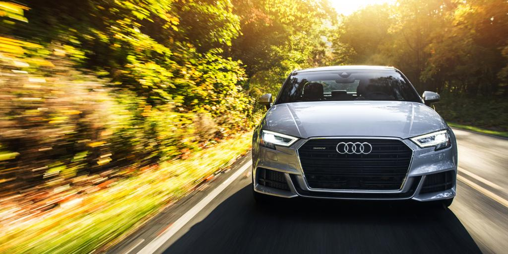 A good drive can feel like time has stopped. #AudiA3