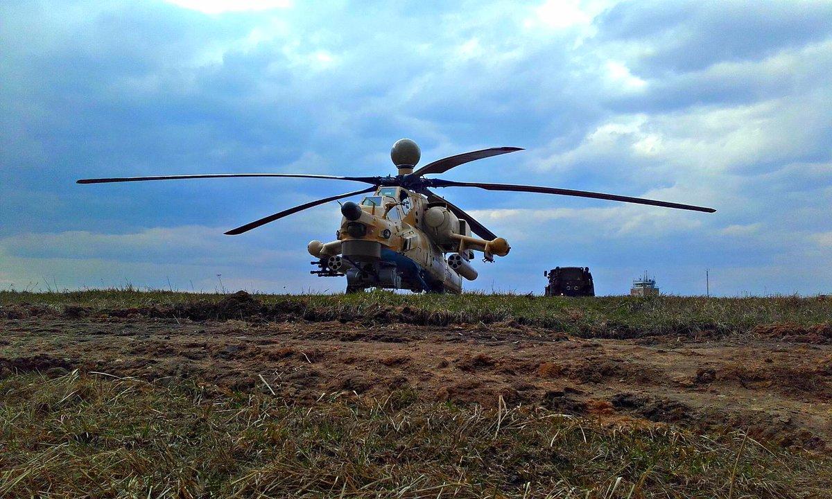 """الجزائر تتسلم مروحيتي """"مي-28 أن إي"""" من روسيا C2Zfmm9XUAASiS-"""