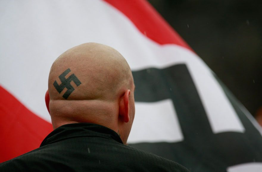 Popular neo-Nazi blogger resigns over revelation his wife is Jewish https://t.co/UbfGmud65U https://t.co/PndRMnxH5k