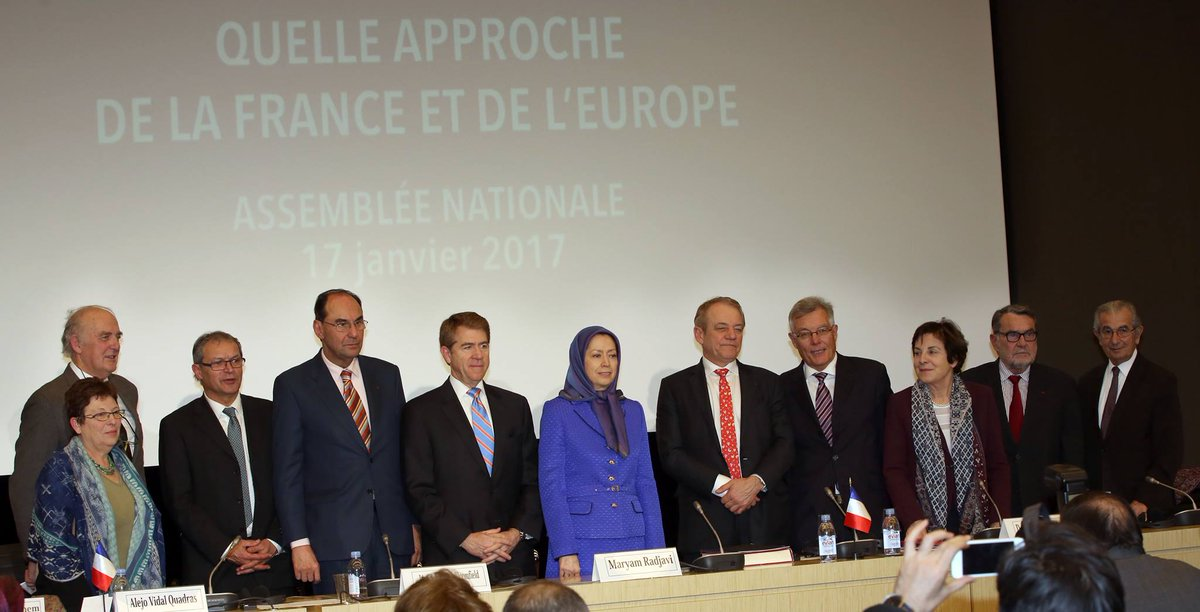 #MaryamRajavi with #French Members of Parliament in a meeting of the Parliamentary Committee For A Democratic #Iran <br>http://pic.twitter.com/ZnzcqYOp7g  https:// twitter.com/FirouzMahvi/st atus/821451800297537536 &nbsp; …