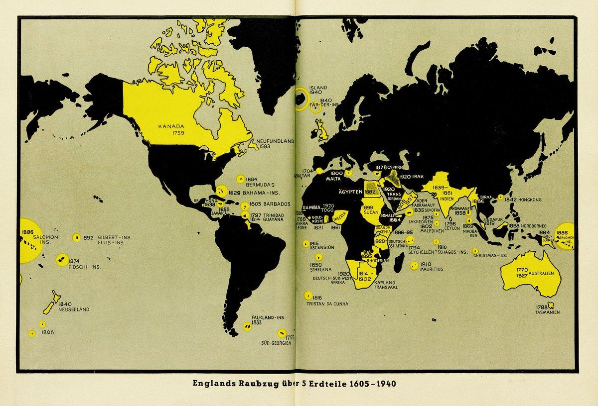 Amazing Maps on Twitter Nazi propaganda map
