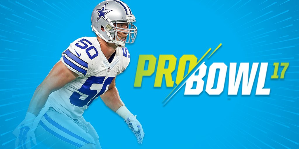 46f51450bfc sean lee has been named to the 2017 pro bowl replacing luke kuechly this  will be