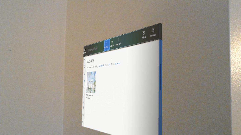 Neue Windows 10 Neon-Schnittstellen werden 3D-HoloLens Apps ermöglichen