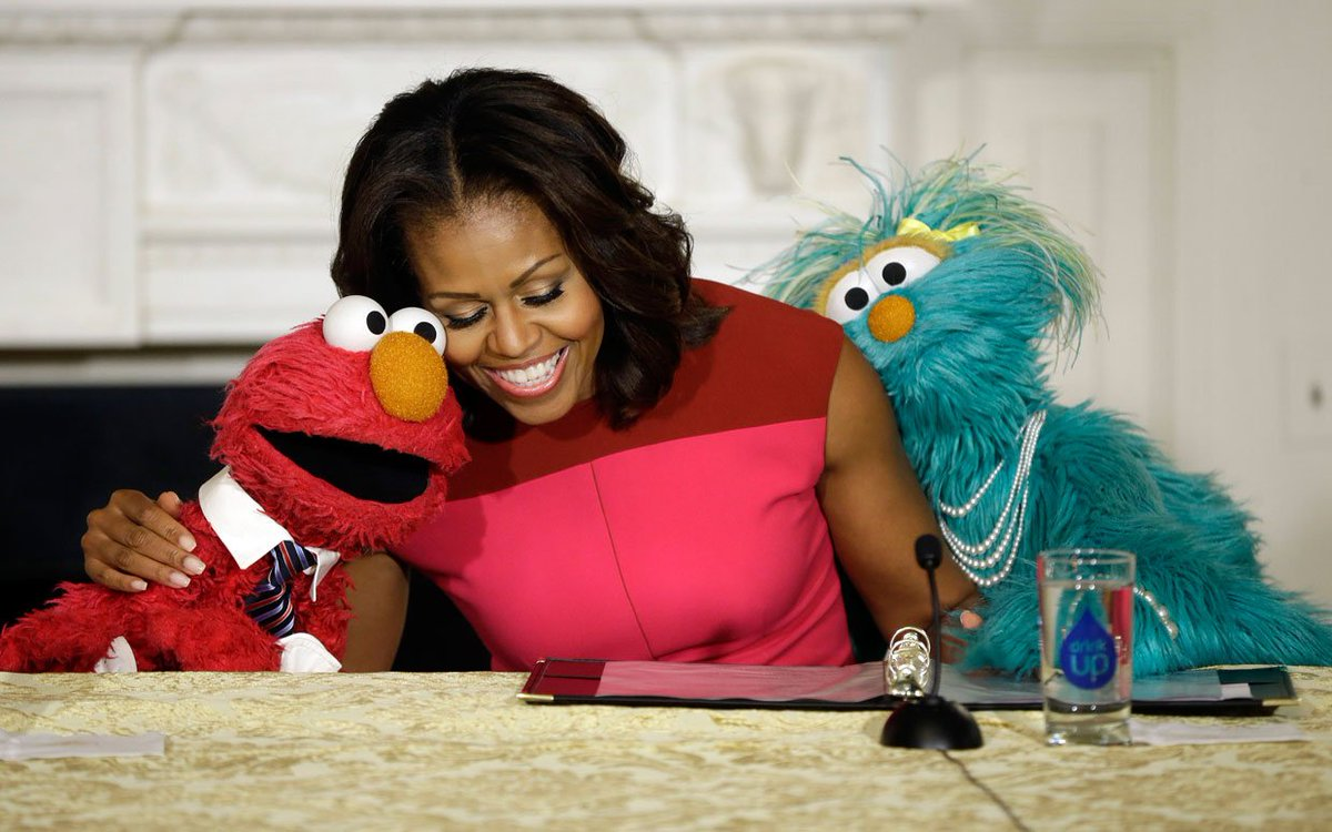 Happy birthday to @FLOTUS! Thanks for teaching kids the importance of...