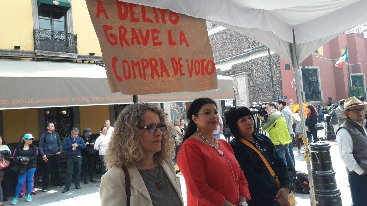 Que la Constitución local cancele registro a partidos que compren el voto, exige Morena