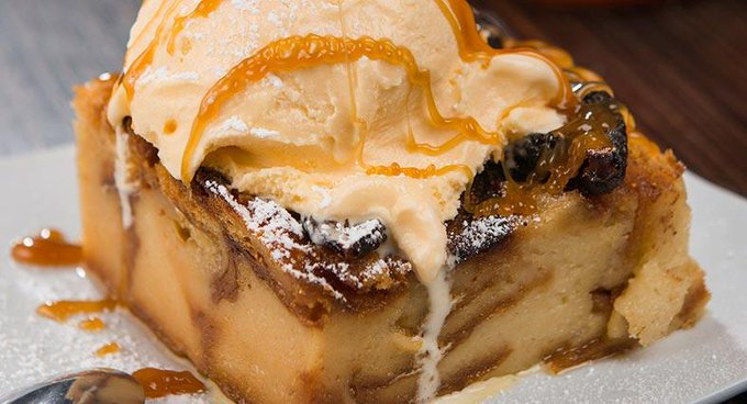 Figgy Bread Pudding