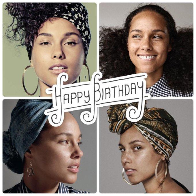 Happy, happy birthday to the stunning, Alicia Keys.  Help us celebrate her today.