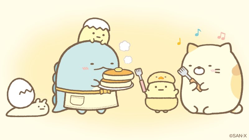 今日のおやつはホットケーキ🍴 #ホットケーキの日