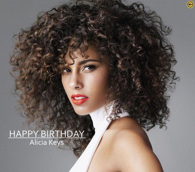 Happy Birthday to the multi talented superstar, Alicia Keys