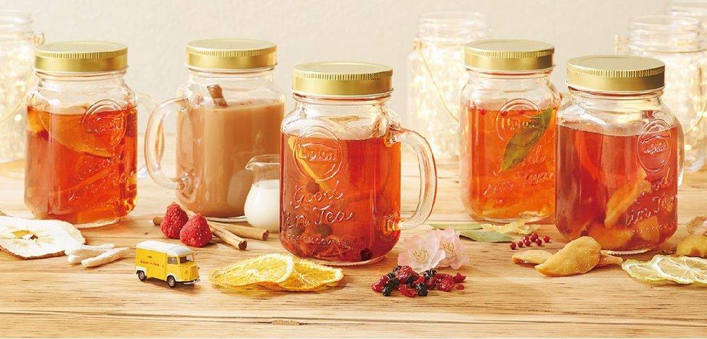 リプトン新感覚ティー、ジャーに紅茶やフルーツを入れた冬ドリンク専門店が東京・名古屋・大阪に -  メ…