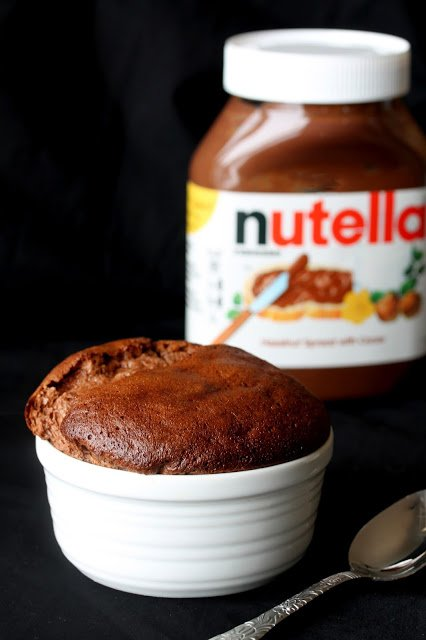 Easy Bacon Nutella Souffle