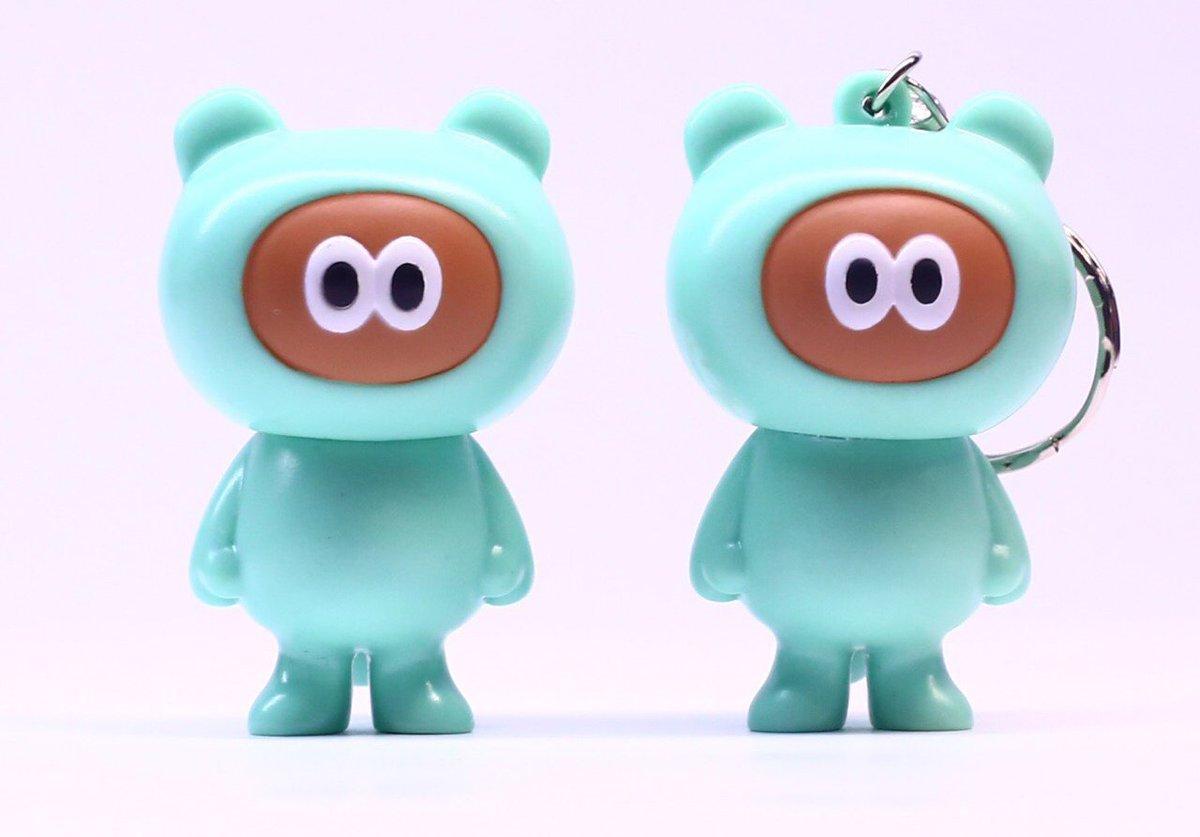 『夢眠ねむ』によるミントグリーンのたぬきのキャラクター『たぬきゅん』新グッズ発売決定✨今回はipho…