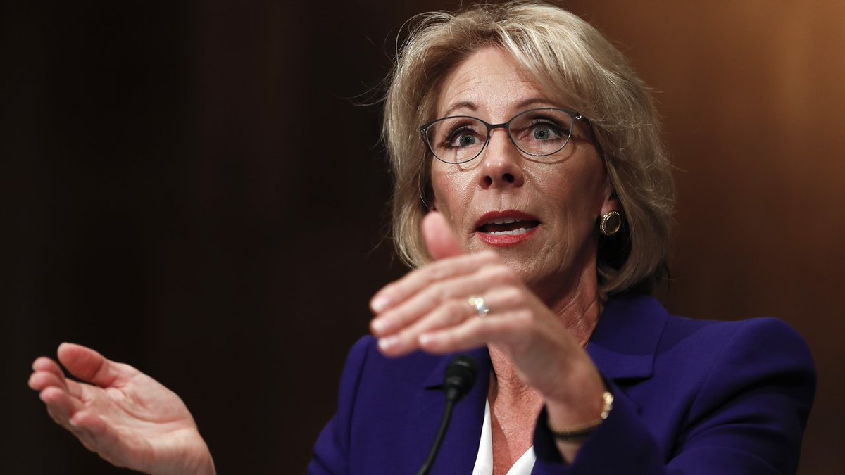 Trump education pick DeVos promotes school choice at confirmation hearing   http:// fxn.ws/2iyAB2M  &nbsp;   #TrumpTransition <br>http://pic.twitter.com/7ErwCLnZCg