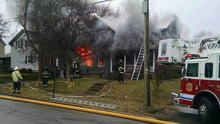 Newark fire that displaced three remains under investigation