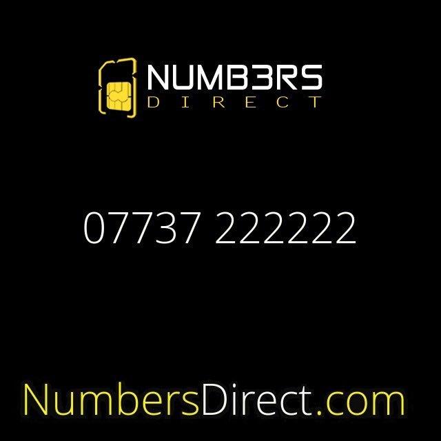 07737 222222 (£2000) #mobilenumbers #goldnumbers #personalisednumbers #vipnumbers #platinumnumbers #exclusivenumbers #numbersdirectpic.twitter.com/puYoegLWyh
