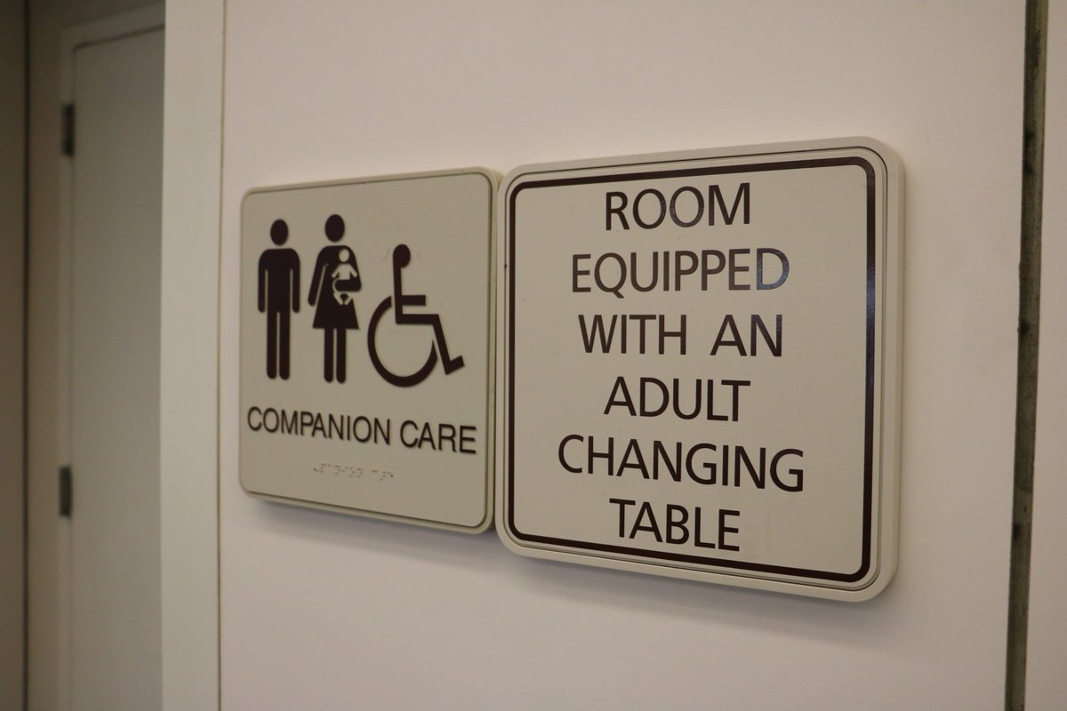 Orlando International Airport On Twitter NEWS Were Now The First - Adult changing table