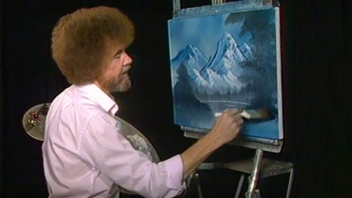 Ryan reynolds on twitter bob ross is very calming 5 min into ryan reynolds on twitter bob ross is very calming 5 min into this show it feels like youve been fucked to death by a thousand pillows voltagebd Gallery