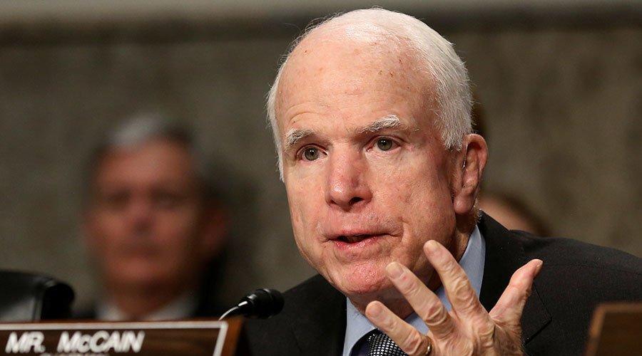 Leak of report on #Trump's alleged ties with Kremlin 'totally wrong' - #McCain  http:// on.rt.com/80li  &nbsp;  <br>http://pic.twitter.com/cGRnNWVyzI
