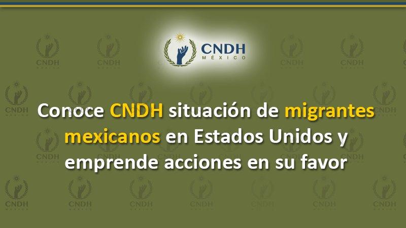 Reforzará CNDH oficinas en frontera con EU