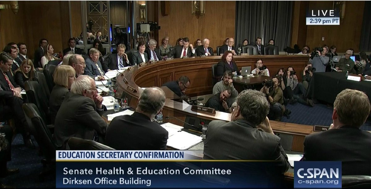 RT if you think Senators shouldn't be cut off after just 5 minutes of questions: https://t.co/oGBRmoVTZ4 #DeVos