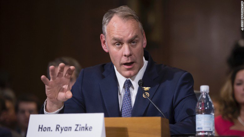 Donald Trump 39 S Secretary Of Interior Nominee Faced Tough Questions About His And Trump 39 S Views