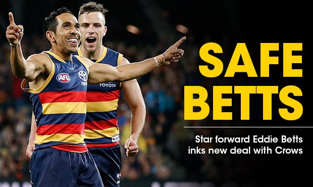 Thumbnail for Betts signs new deal