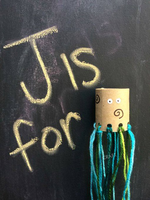 Jelly Fish Yarn Craft