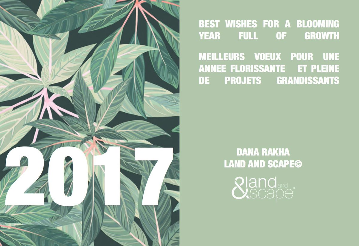 Happy New Year! Bonne Année 2017! #landandscape #newyear #newobjectives #motivation<br>http://pic.twitter.com/cAnME9oRPC