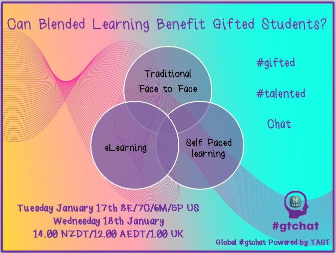 Thumbnail for #gtchat: Can Blended Learning Benefit Gifted Students?