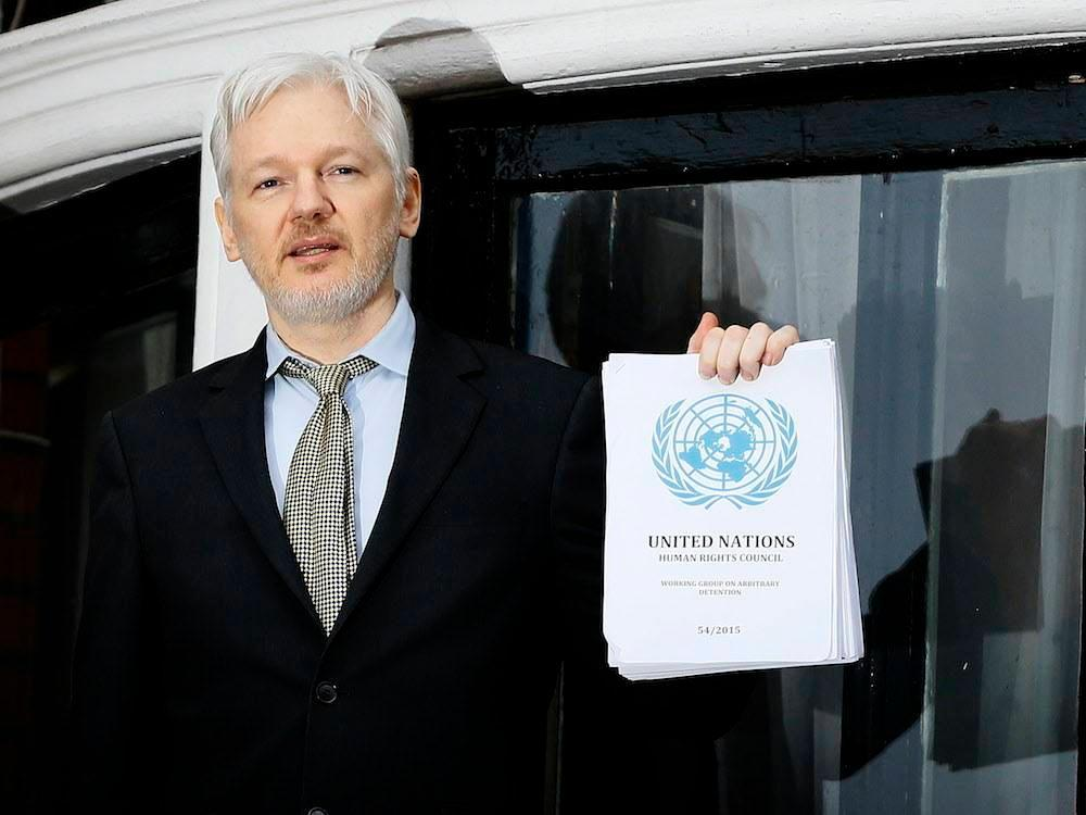 Will WikiLeaks' Julian Assange keep promise to give himself up to U.S.? https://t.co/2Nx1odlaZY https://t.co/V56IcAToyo