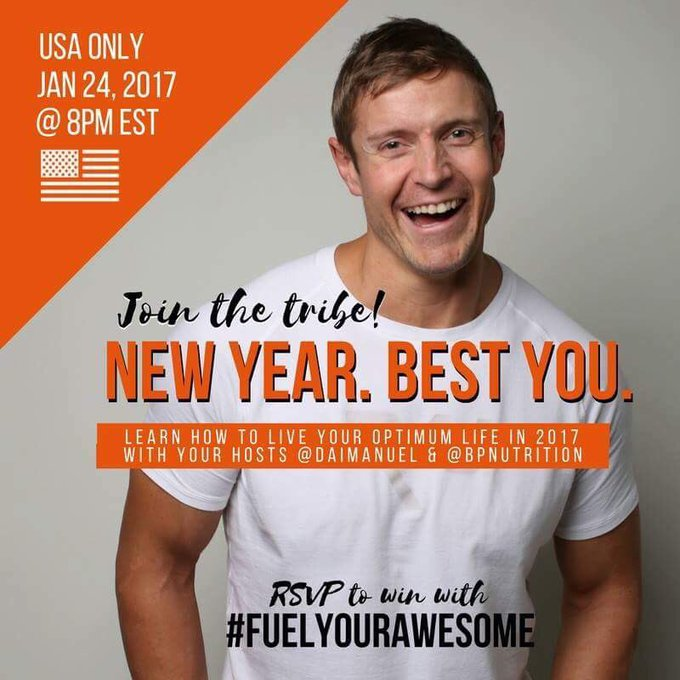 #FuelYourAwesome #TwitterParty with @BPNutrition on Wednesday January 24 8pm EST ://