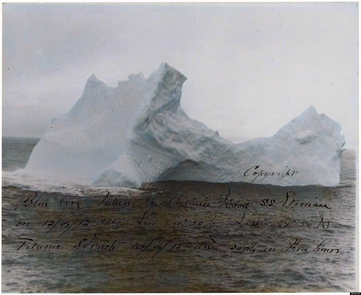 氷山 タイタニック