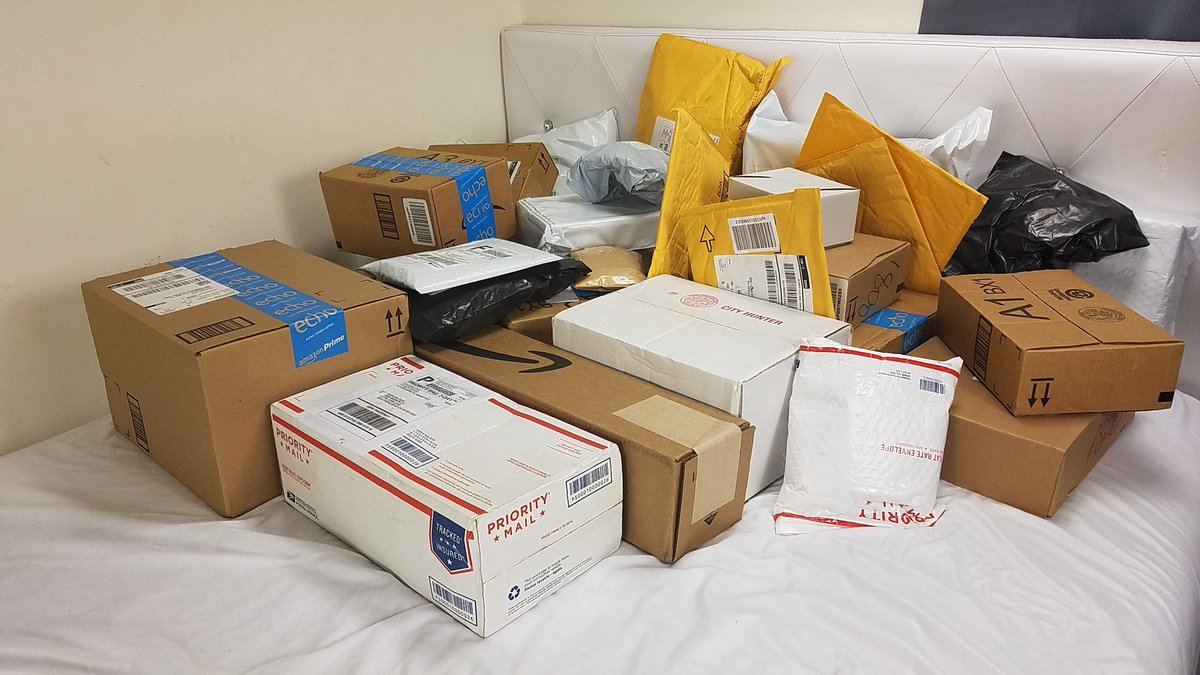 Mail Haul!         #spoiled #PrincessOfAllSaiyans #Princess #Thankful #Grateful #blessed<br>http://pic.twitter.com/REbDBu0PFs